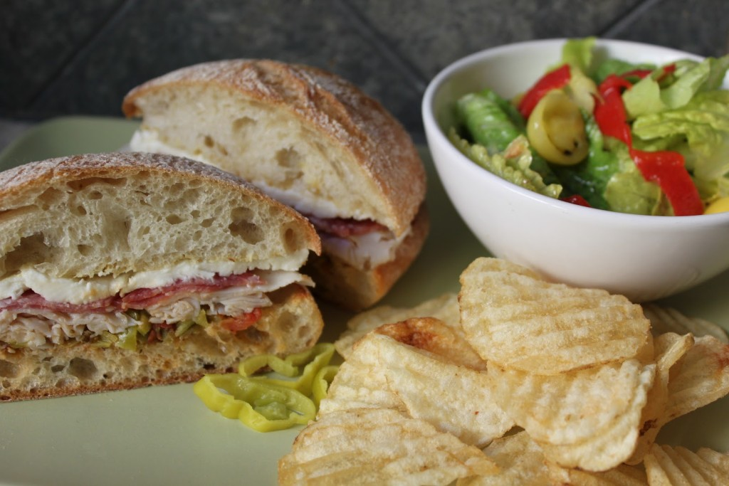 Improving on a classic? My version of New Orlean's Muffuletta Sandwich