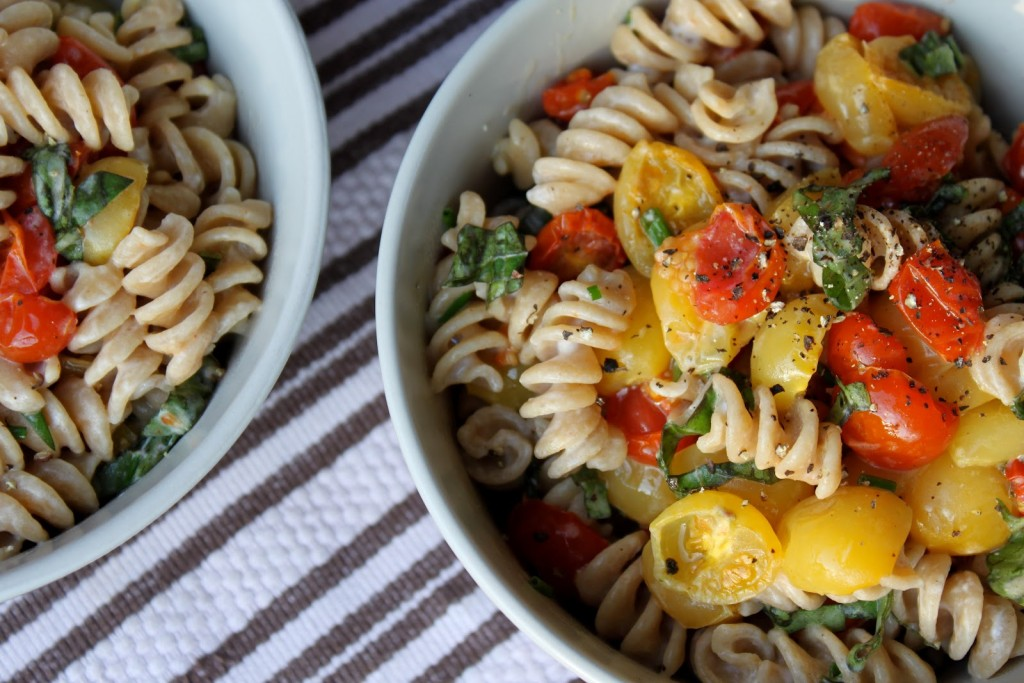 Fusilli with Slow Roasted Cherry Tomatoes