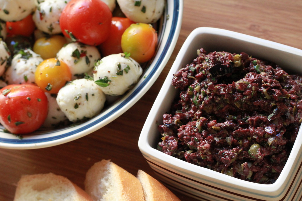 Superb Black Olive Tapenade recipe from The Barefoot Contessa