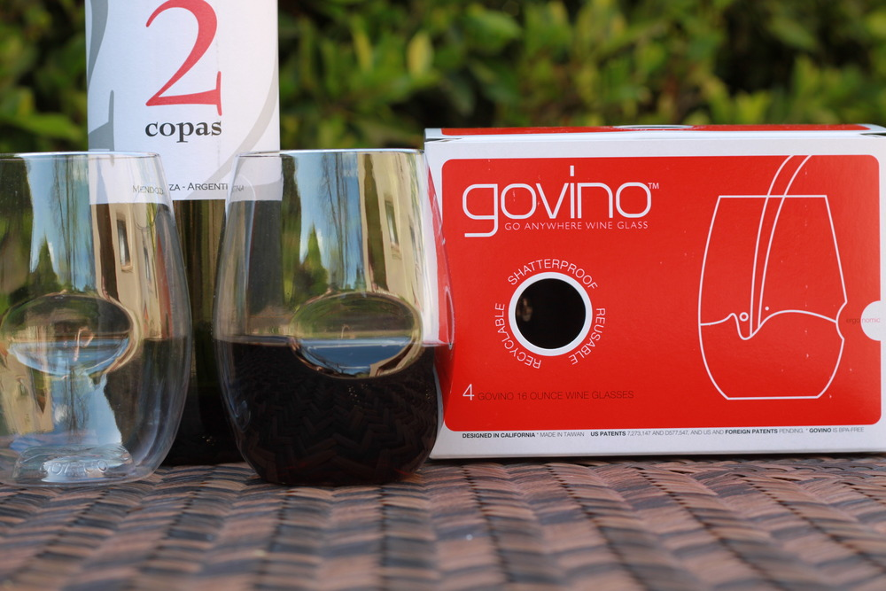 "The ""Go Anywhere Wine Glass"" – beautifully designed plastic glasses from Govino"