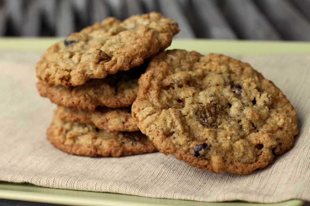 Outrageously Good Oatmeal Cookies with Raisins, Cherries, Blueberries & Cranberries