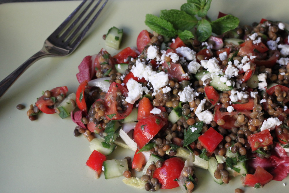 Mediterranean Lentil Salad: Chock full of flavor, nutrients & ancient history