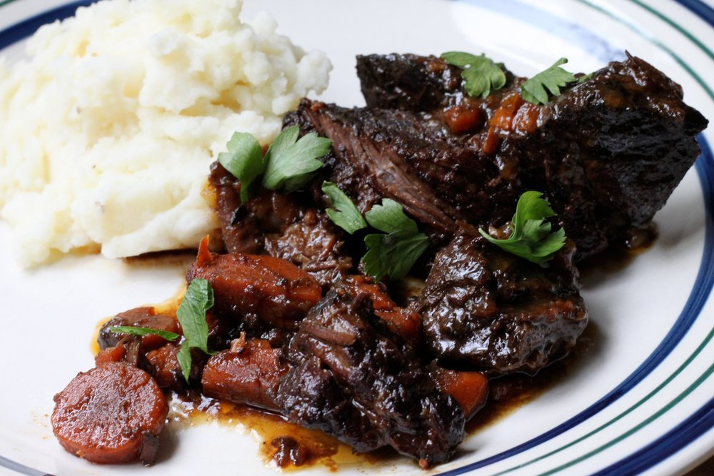 My Fall dinner party staple: Sticky & Sweet Braised Short Ribs
