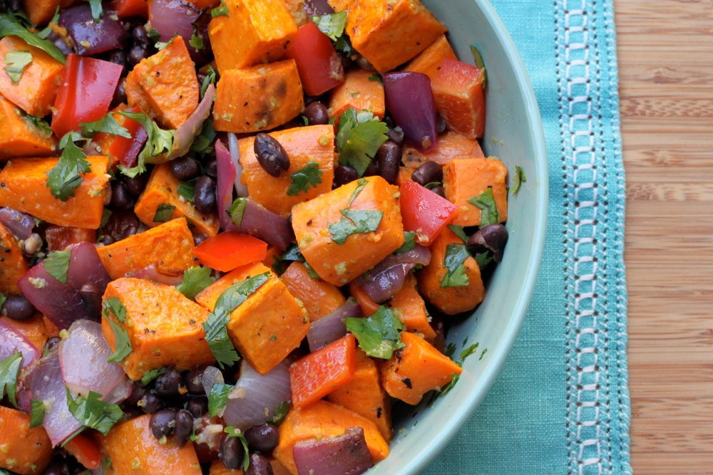 The most vibrant & seasonal Sweet Potato Salad ever from @bittman