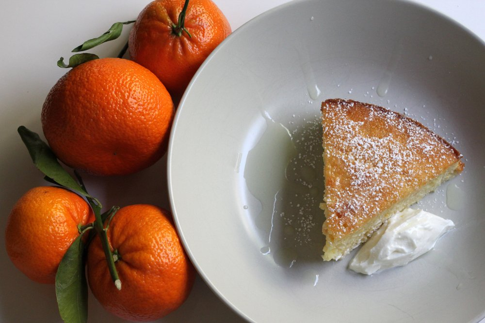 A stunning and delicious Mediterranean dessert: Almond & Orange Yogurt Cake