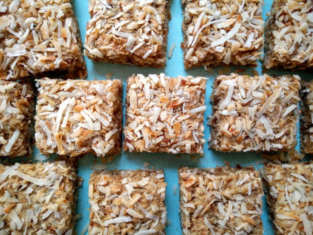 Naturally Sweet & Tart: A Healthy Lemon Coconut Bar for Mother's Day